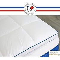 RESTBULLE Surmatelas à Mémoire de Forme 80 x 200 cm - Confort Morphologique - Qualité Hôtellerie - Fabriqué en France…