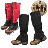 Osuter 2 par vandring damasker vattentäta andningsbara fotvandring ben damasker för vandring vandring vandring klättring jakt
