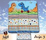 Best For Kids BESONDERE KUSCHELWEICHE Wickelauflage 100% Baumwolle Wickeltischauflage 3 in 1 in Größe 70x50 mit Öko Tex Standart