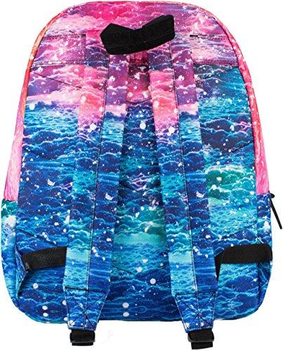 Hype Rucksack Tasche - Verscheidene Farben Pink Sky Clouds Multi