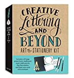 Creative Lettering and Beyond Art & Stationery Kit: Includes a 40-page project book, chalkboard, easel, chalk pencils, f