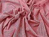 Gingham Check Baumwolle Seersucker Kleid Stoff, Meterware,