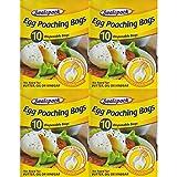 40x Sealapack Lot de sacs à œufs jetables Perfect sachets à facile à nettoyer