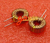 Tradico® 2PCS 100uH 6A Coil Toroid Core Inductors Wire Wind Wound DIY