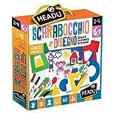 Headu IT21628 Scarabocchio e Disegno Montessori