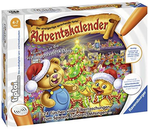Ravensburger Tiptoi 00840 Tiptoi Adventskalender 2018 - Komm mit in Die Weihnachtswerkstatt