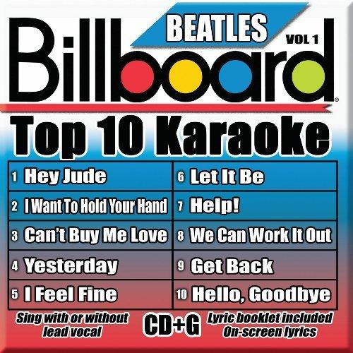 Billboard Karaoke - Billboard Beatles Top 10 Karaoke Vol 1 [10+10-song CD+G] by Billboard Karaoke (2009-11-03)