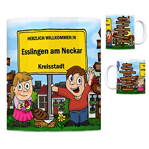 trendaffe - Herzlich Willkommen in Esslingen am Neckar Kaffeebecher