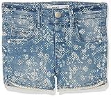 NAME IT Mädchen Nmfsalli Dnmaselle 1057 Shorts, Blau (Light Blue Denim Light Blue Denim), 110