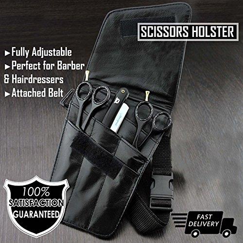 Tijeras de peluquería Tool cinta Scissor soporte Holster/Cinturón Tijeras Bolsa.