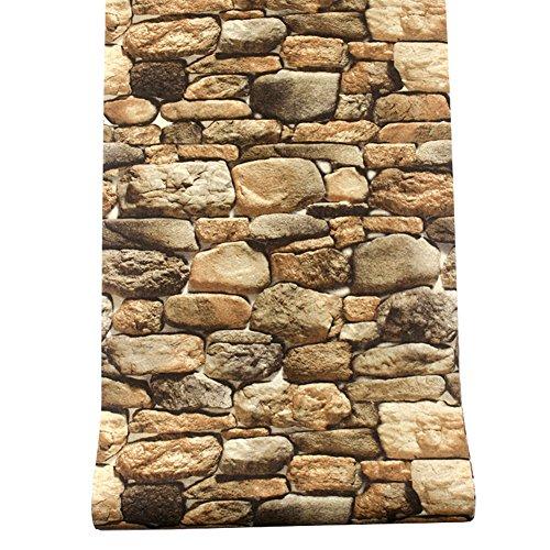 3d stein tapete, Retro vintage hintergrundbild für laden restaurant restaurant grill hot pot restaurant-F