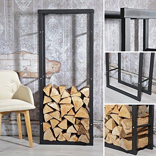 1,5M Feuerholzständer Kaminholz Brennholz Regal Kaminholzständer Kaminholzablage