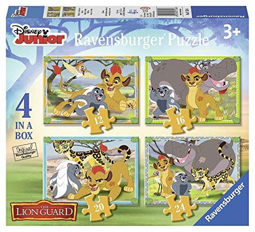 Ravensburger The Lion Guard - 4 Rompecabezas de diferentes tamaños 71586