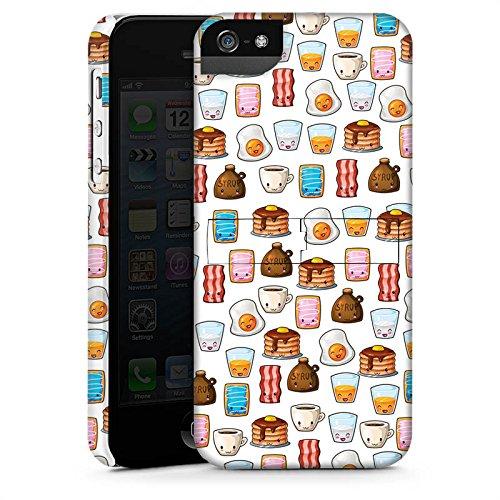 Apple iPhone X Silikon Hülle Case Schutzhülle Cute Breakfast Frühstück Kawaii Manga Style Premium Case StandUp