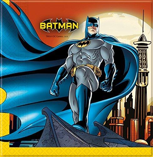 Batman 20Party-Servietten Papier 33x 33cm