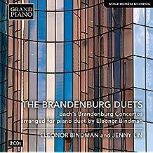 Brandenburger Konzerte zu 4 Händen