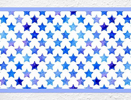I-love-Wandtattoo b-10028 Kinderzimmer Bordüre Sterne Sternenhimmel Tapete Kinder