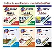 Neeraj Publication IGNOU M.Com First Year Set of 6 combo Books (IBO1, IBO2, IBO3, IBO4, IBO5, IBO6) in English