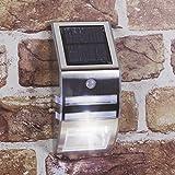 GardenKraft 11270 11270-Lámpara Solar de Pared
