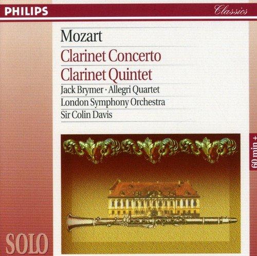 Mozart: Clarinet Concerto / Clarinet Quintet Test