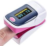 WQLESO pulsossimetro da Dito Professionale Medico,Digitale di Ossigeno del Sangue Pulse Spegnimento Sensore contatore Automa