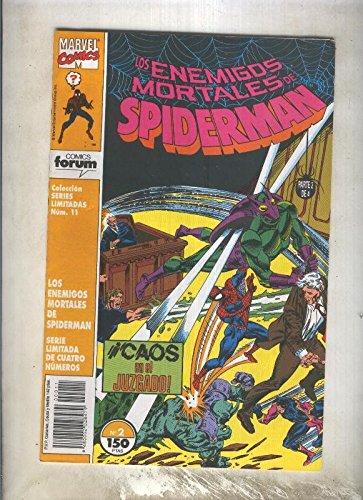 Series Limitadas numero 11: Los enemigos mortales de Spiderman numero 2