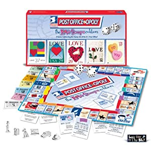 Late for the Sky POLS Post-opoly Liebe Stamp Board Game