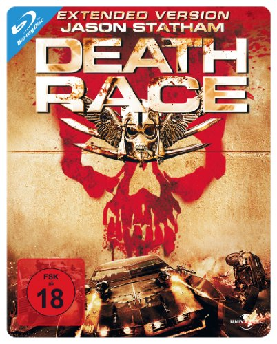 Death Race - Extended Version/Steelbook [Blu-ray] (100th Anniversary Collection)