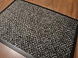 Quarz Anthrazit Dekowe 60 x 40 cm Fußmatten/Sauberlauf Abtreter