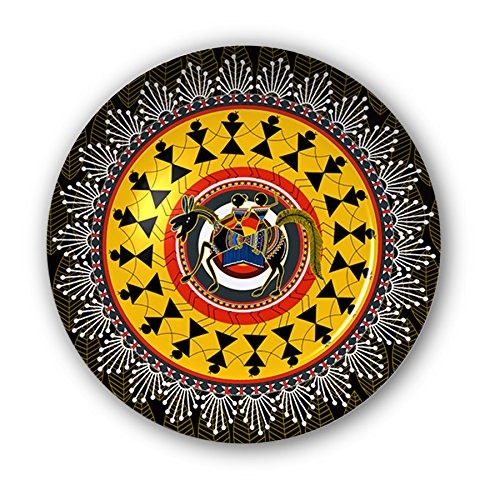 Kolorobia Warli Art Decorative Plate