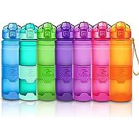 Bottiglia d'acqua sportiva palestra borraccia senza BPA in plastica tritan 1l/700ml/500ml/400ml,bottiglie bambini, sport…