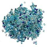 Beadsnfashion Seed Bugles Beads Turquois...