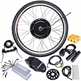 ReaseJoy 48V 1000W 26' Front Wheel Electric Bicycle Motor Conversion Kit E-Bike Cycling Hub