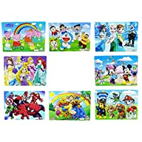 HAPPYTOYS Jigsaw Toys For Children Education And Learning Puzzles Toys Classic puzzles for children kids toys 8PCS/SET
