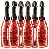 Sander's Selection Dreamline Rosé Premium Vino Espumoso - Paquete de 6 x 750 ml - Total: 4500 ml