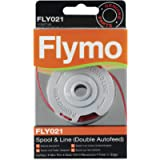 Flymo FLY021 1.5 mm Spool and Line Cartridge for Standard Double Autofeed