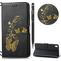 WIWJ Schutzhülle für Sony Xperia C6 Handyhülle Leather Case für Sony Xperia XA Ultra Hülle Lederhülle Flip Wallet... preisvergleich bei billige-tabletten.eu