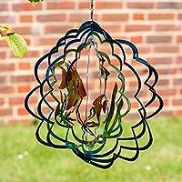 inoxidables Multicolor peces tropicales Wind Spinner para el jardín – nuevo