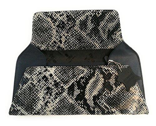 Zerimar Borse a mano da donna | 100% pelle alta qualità | Borsa della Signora | Borsa a mano | Borsa Grande | Borsa Piccola | Scomparti multipli Nero