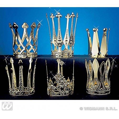 -ac0400-Krone Prinzessin-Gold/Aluminium-Größe 5,5x 11cm ()