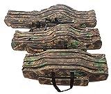 Angeltasche Rutentasche Rutenfutteral Angelkoffer Anglertasche Tasche (Tasche3fach), Länge:70cm