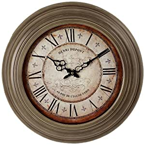 JD Diffusion D7593 Horloge avec Chiffres Romains 43 cm