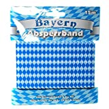 1 Absperrband 15M 7,5cm Bayrisch Raute