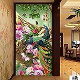 Leegt 3D-Chinesische Jade Pfau Bild Gemälde Galerie Hyeon-Off-Hintergrundbild 300cmX200cm