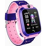 Smartwatch per bambini, IP67impermeabile, anti-smarrimento LBS, smart phone con funzione di chat vocale, sveglia SOS, smart w