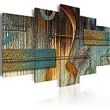murando - Bilder 100x50 cm Vlies Leinwandbild 5 TLG Kunstdruck modern Wandbilder XXL Wanddekoration Design Wand Bild - Abstrakt a-A-0266-b-n