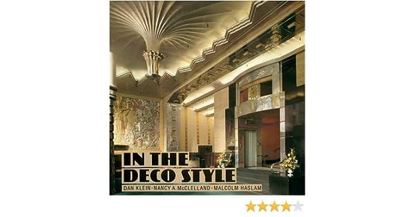 In The Deco Style Amazon De Dan Klein Nancy A Mcclelland