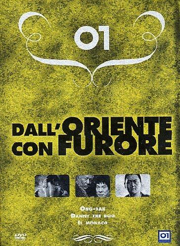 Preisvergleich Produktbild Dall'oriente con furore - Ong-Bak + Danny the dog + Il monaco [3 DVDs] [IT Import]