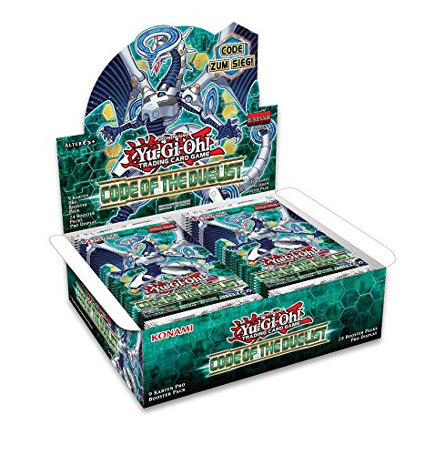 Konami 116783600001 Yu-Gi-Oh Code of The Duelist-Booster Pack Display