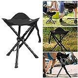 Strand Stuhl Stativ Falten leicht und massivem Stahlrohr Camping Hocker ideal für Angeln Travel Walking Wandern Picknick Trekking und Abendessen Outdoor